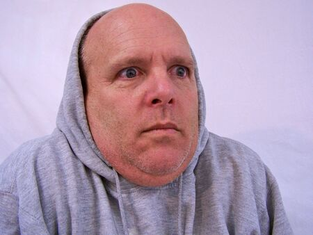 man with hooded sweatshirt Stock Photo - 3577686