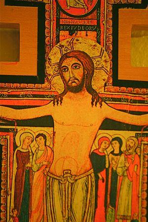 christ blood: San Damiano Cross