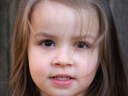 Girls face Stock Photo