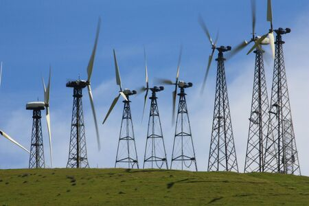 Wind turbines Stock Photo - 4676052