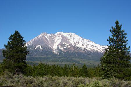 Mt. Shasta Foto de archivo