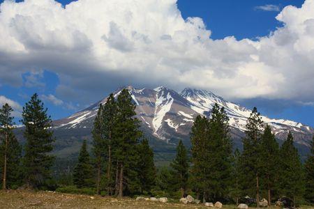 Mt. Shasta Stock Photo