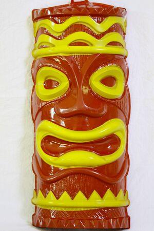 Tiki face photo