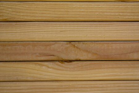 Close-up of grain on stacked lumber