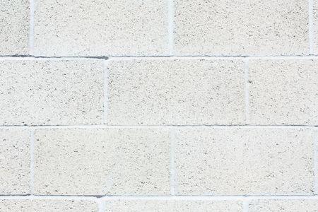 Cinderblock wall Foto de archivo