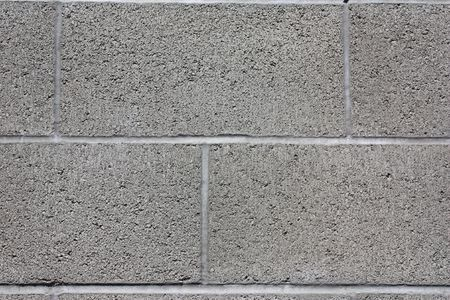 concrete blocks: Cinderblock wall Stock Photo