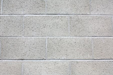 Cinderblock wall Stock Photo