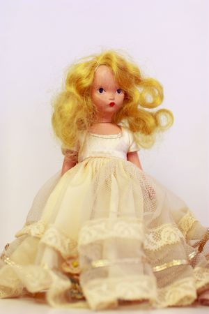 Antique doll Stock Photo - 7147900