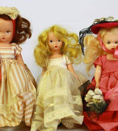 Antique dolls Stock Photo - 7147897
