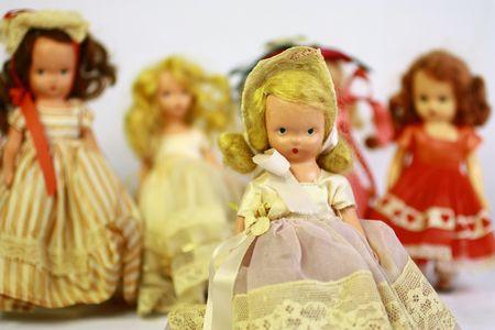 Antique dolls Stock Photo - 7147906