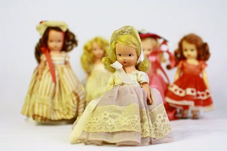 Antique dolls Stock Photo - 7147903