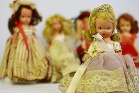 Antique dolls Stock Photo - 7147905