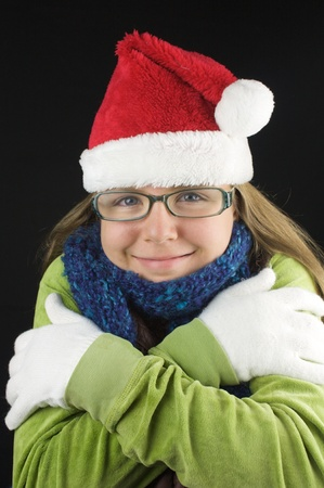 Young girl wearing winter clothing Stock Photo - 15713844