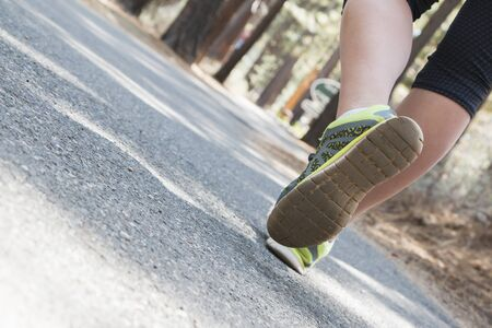 course � pied: Running Girl