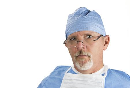 quirurgico: Cirujano con Gafas Uniforme Quirúrgico