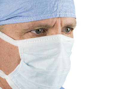 Close up of Surgeon with Mask