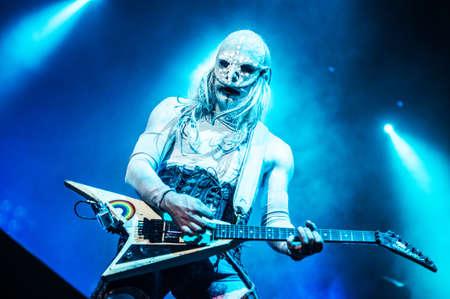nu: American nu metal band Limp Bizkit performing live at Stadium club, Moscow, Russia  Editorial