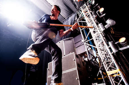 sergio: American alternative band Deftones performing live at Arena club, Moscow, Russia  Editorial