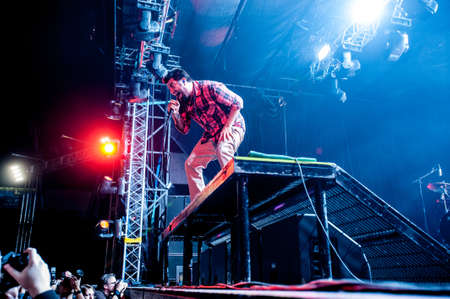nu: American alternative band Deftones performing live at Arena club, Moscow, Russia  Editorial