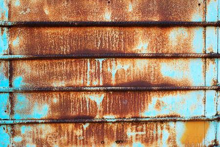 Grunge iron textured background photo