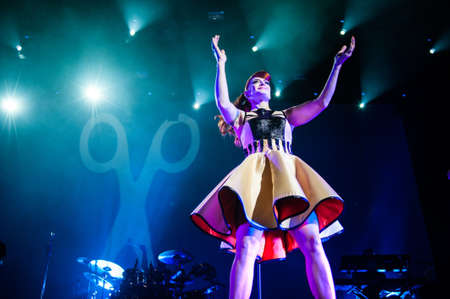 September 14, 2012 - Moscow, Russia - British pop-rock band Scissor Sisters performing live at Stadium Club, Moscow, Russia. Stock Photo - 22054507
