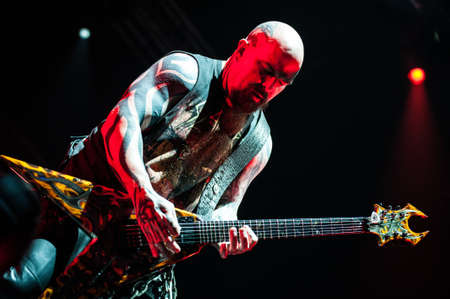 slayer: June 20, 2012 - Moscow, Russia - American heavy-metal band Slayer performing live at Arena club, Moscow, Russia