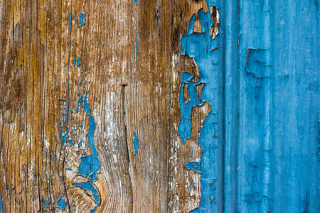 painted wood: Old painted wood background