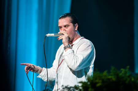 patton: 2 July, 2012 -  Moscow, Russia - American alternative band Faith no More performing live at Stadium club