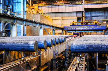 hard alloy: KAMENSK URALSKY, RUSSIA - CIRCA JULY, 2010  - Kamensk Uralsky Metallurgical Works (KUMZ in Russian abbreviation)  is one of the largest smelting plants in Russia