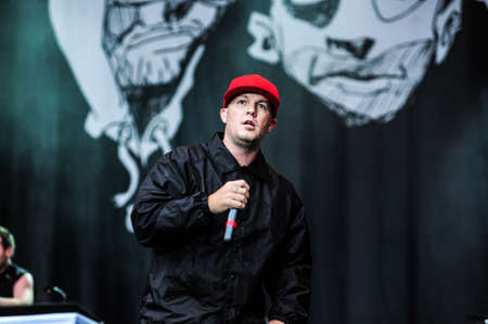 vocalist: 29 may, 2009 - Moscow, Russia - American alternative metal band Limp Bizkit performing live at Green theatre.