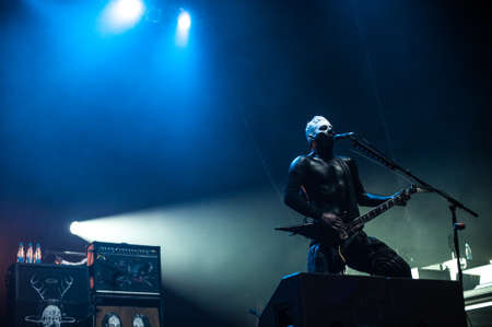 3 october, 2010 - Moscow, Russia - American alternative metal band Limp Bizkit performing live at Olimpiysky stadium