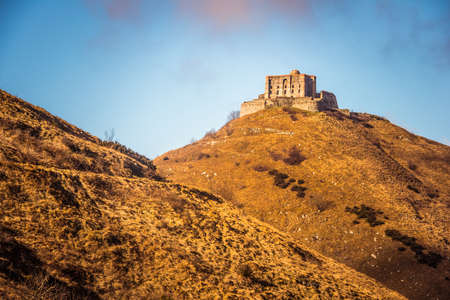 diamante: The fort Diamante near Genoa in Liguria region, Italy