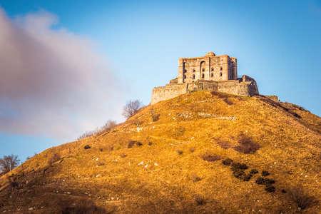 The fort Diamante near Genoa in Liguria region, Italy