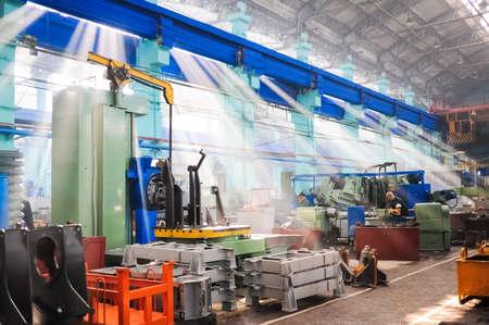 NOVOCHERKASSK, RUSSIA - CIRCA JULY, 2011: Novocherkassk Electric Locomotive Plant, based in the Russian town of Novocherkassk, Russia