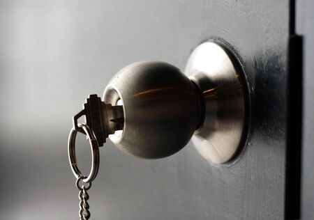 Doorknob complete with its very own key