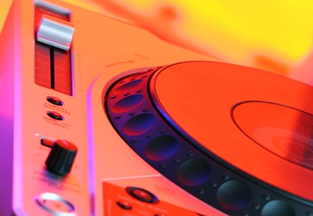 Professional CD Player in fascinating colors