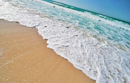 Tropical Beach on Tropical Island Stock Photo