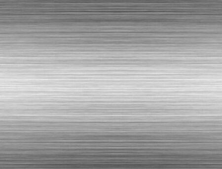 Brushed Aluminium Silver Shiny Plate Stock Photo - 1868657