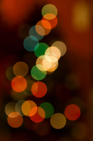 Patterns of colorful blurs, overlapping circles of light photo