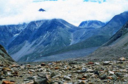 himalaya: Himalaya landscape Stock Photo