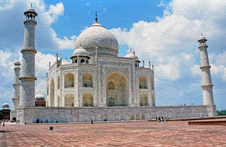 Taj Mahal, India photo