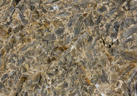 flint: close up photo of the irregular surface of the flint from opatow, Poland Stock Photo