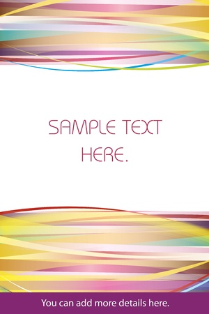 Colorful abstract background good for memo or as a gift card