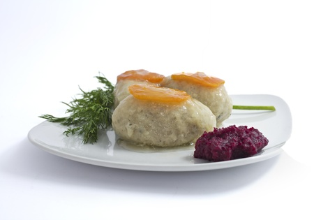 jewish food: Gefilte fish for passover