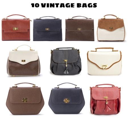 10 Beautiful Vintage Bags