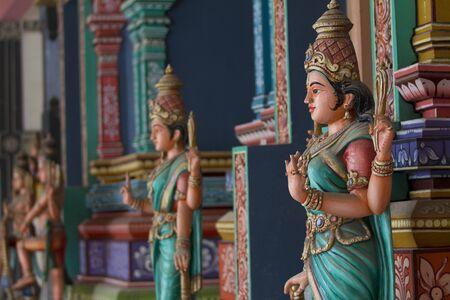 Hindu temple in Sri Lanka - Perspective photo