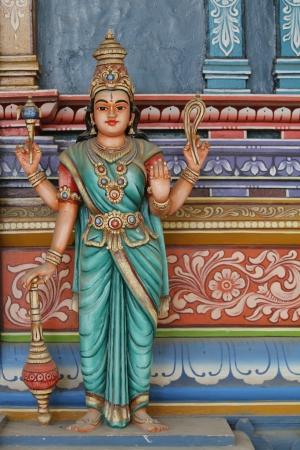 worship god: Hindu temple in Sri Lanka Stock Photo