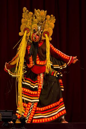 Folklore dancer from Sri Lanka Stock Photo - 14521160