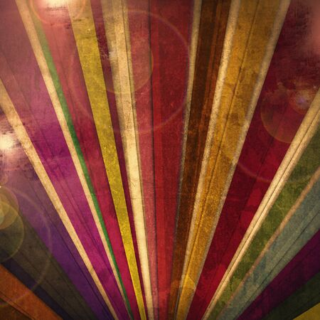 Dark colorful background with strips rainbow  design