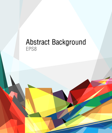 Illustration of colorful abstract background  Illustration